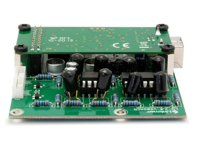 USB-DAC基板 正面